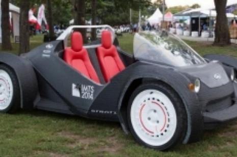 """Bu otomobil """"3D"""" ürünü"""