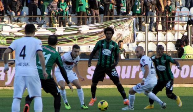 Akhisar Belediyespor:1 - Gençlerbirliği: 1
