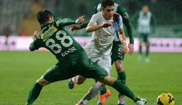 Bursaspor: 3 - Trabzonspor: 3