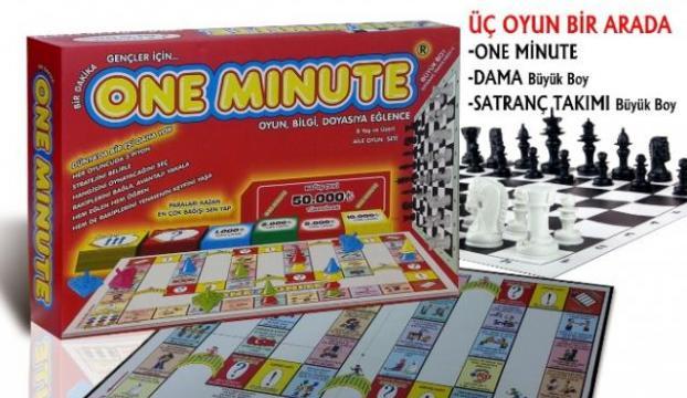 """One minute"" oyun oldu"