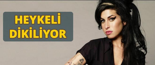 Amy Winehouse'un heykeli dikilecek