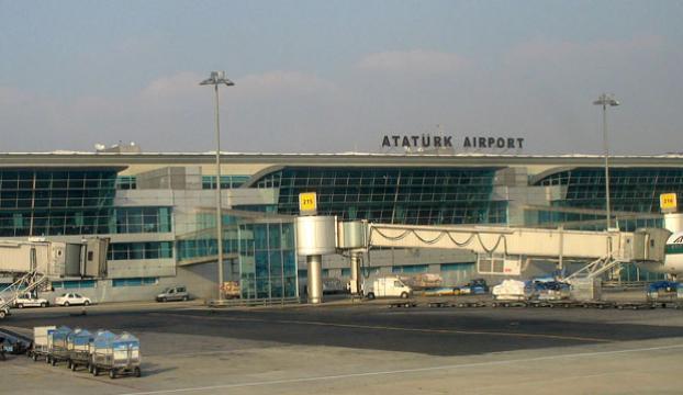 Atatürk Havalimanında alarm