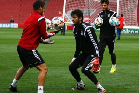Beşiktaş yarınki maç için Bursa'ya gitti