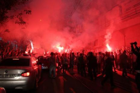 Beşiktaş, geniş güvenlik önlemleri altında