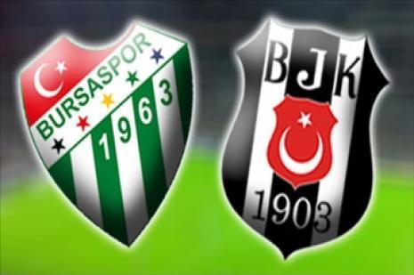 Beşiktaş ile Bursaspor 91. randevuda