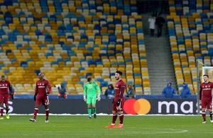 Beşiktaş'a Kiev'de soğuk duş
