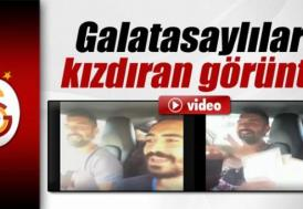 Bu görüntü Galatasaraylıları kızdırdı