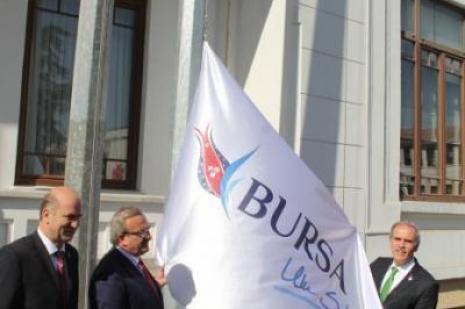 Bursanın yeni logosu tanıtıldı