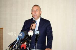 """Çavuşoğlu : """"Bizim için PYD ve PKK aynı"""""""