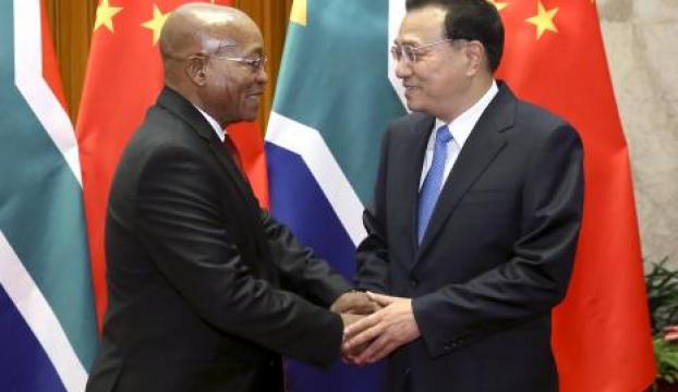 Çinden Güney Afrikaya yatırım önceliği