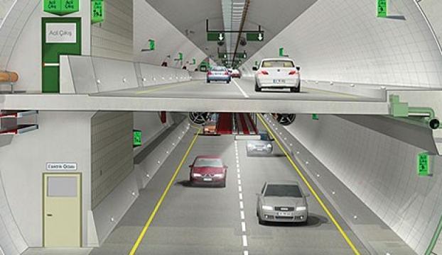 Avrasya Tünelinin 3te 1i tamam