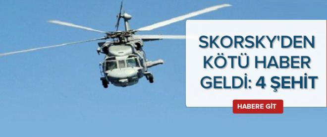 Kayıp helikopterden acı haber geldi