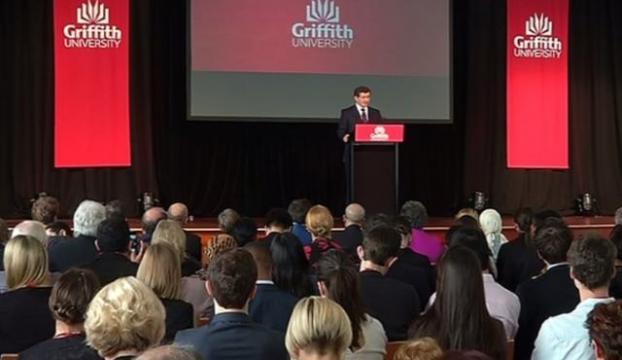 Davutoğlu Avustralyada konuştu