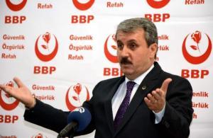 BBP Genel Başkanı Destici Osmaniye'de