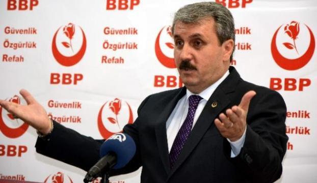 BBP Genel Başkanı Destici Osmaniyede