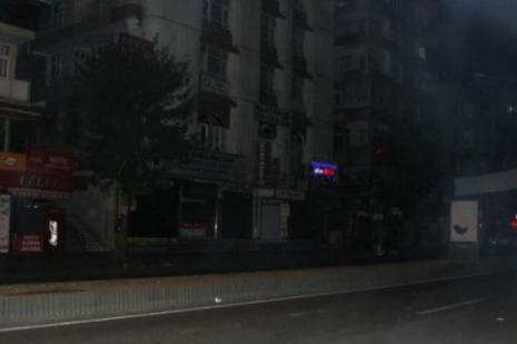 Diyarbakırda olaylar tekrar başladı