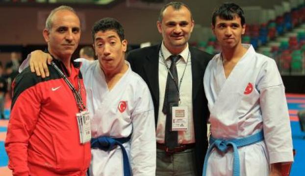 Dünya Engelliler Karate Şampiyonasında izleyenler onları ayakta alkışladı