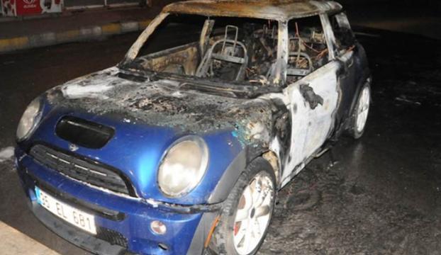 Kürtçe bilmediği için aracını yaktılar!