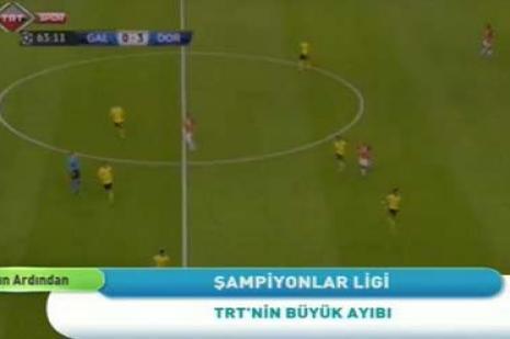 Skandal sonrası TRT'den açıklama