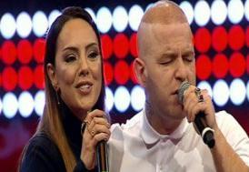 Gökhan ile Ebru'dan arabesk düet