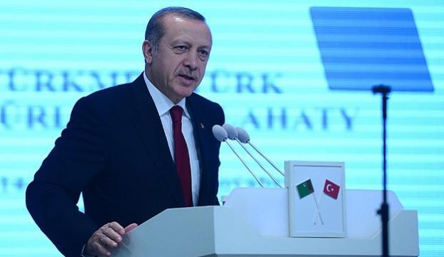 Erdoğan Türkmenistandan ayrıldı