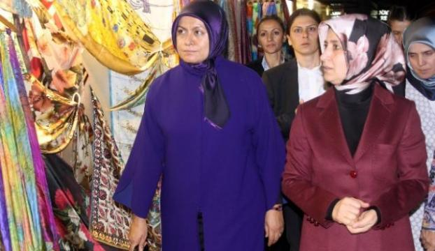 Eşinden Başbakan Davutoğluna büyük jest