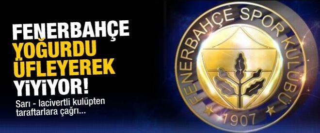 Fenerbahçe, taraftarlara çağrıda bulundu
