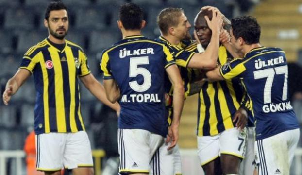 Fenerbahçe 4-1 yandan saldırdı