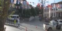 Cumhurbaşkanı'nın evinin önünde silahlar çekildi