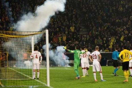 Galatasaray Maçında Olay ! Ceza Yolda