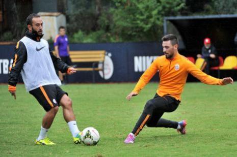 Galatasaray, Balıkesirspor maçı hazırlanıyor
