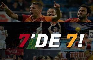 Galatasaray'da galibiyet haftası