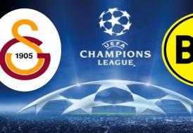 Galatasaray - Borissia Dortmund maçı