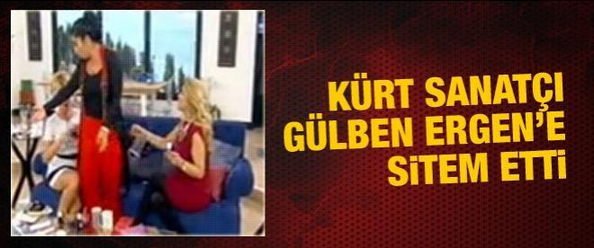 Kürt sanatçı Gülben Ergen'e sitem etti