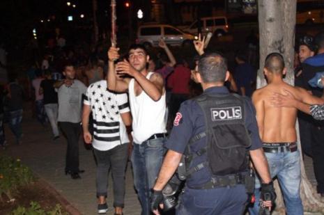 HDP binasına yürümek istediler