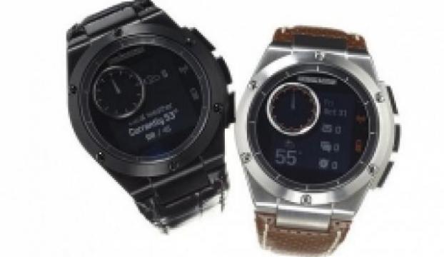 Dokunmatik olmayan ekrana sahip akıllı saat: MB Chronowing