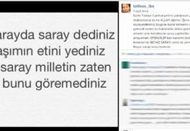 İbo 'Saray' eleştirilerine ateş püskürdü