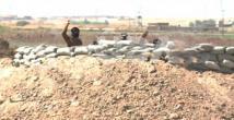 IŞİD militanları peşmergeyle karşı karşıya geldi