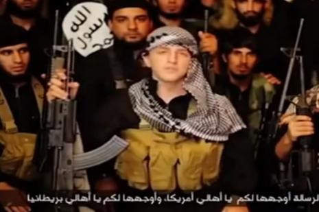 IŞİD militanı ABD ve İngiltereye meydan okudu
