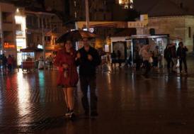 İstanbul'da beklenen yağış gece başladı
