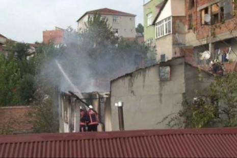 İstanbulda korkutan yangın