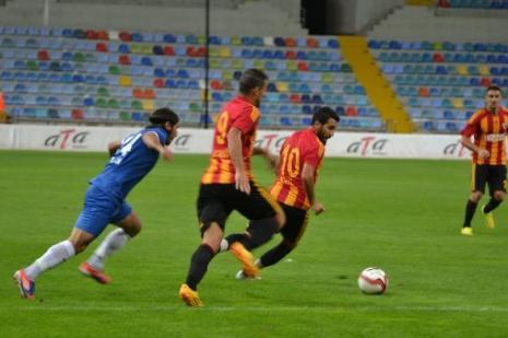 Kahramanmaraş Büyükşehir Belediyespor'u 7-0 mağlup etti