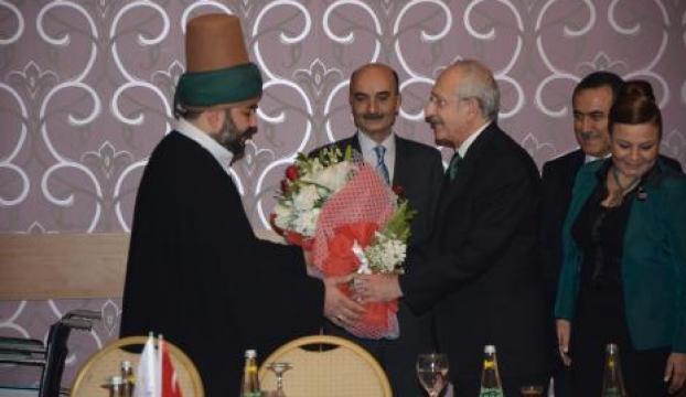 Kılıçdaroğlu, Mevlananın torunlarını ziyaret etti