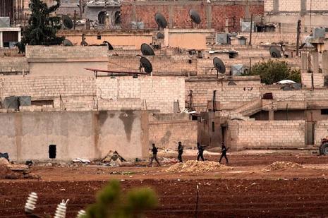 Kobanide çatışmalar azaldı