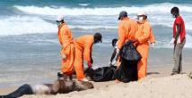 Libyada sahilden ceset topladılar
