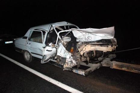Mardinde trafik kazası: 1 ölü