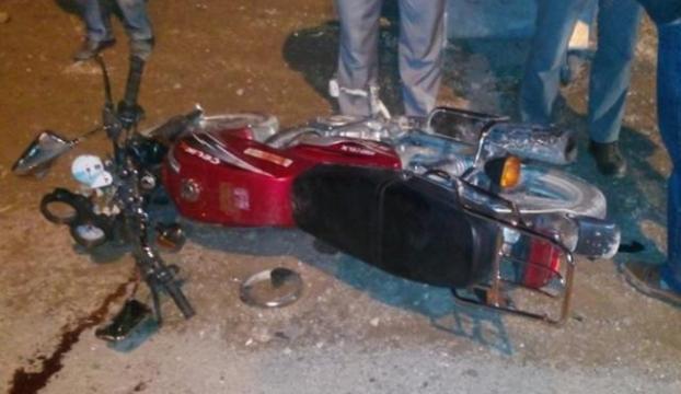 Motosiklette ölüm