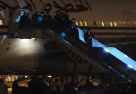 Kral, Türkiye'ye 5 uçakla geldi