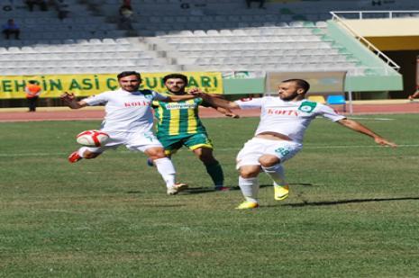 Şanlıurfaspor - Giresunspor: 1-1
