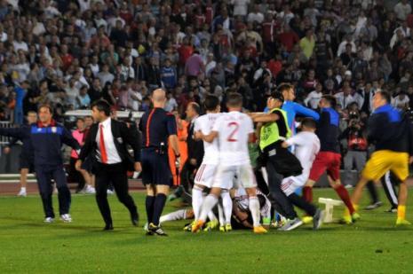 UEFA, olaylı maç için kararını verdi